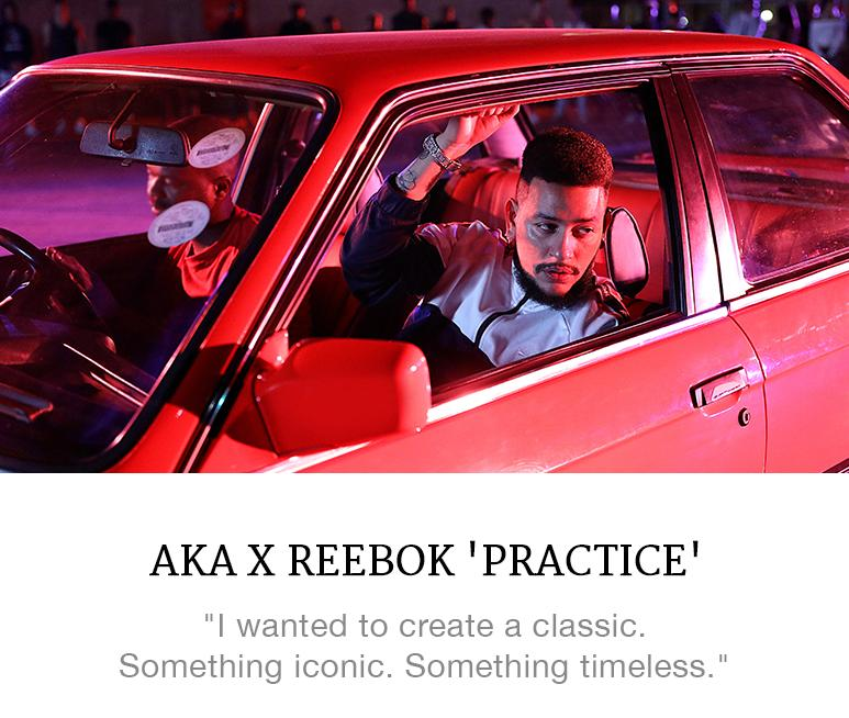 AKA x Reebok 'Practice'