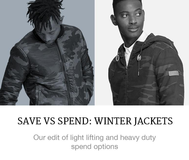 menswear fashion winter jackets camo military trend shop online superbalist blog