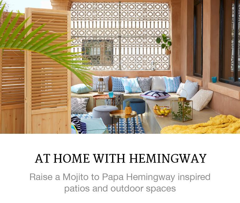 Hemingway inspired home decor