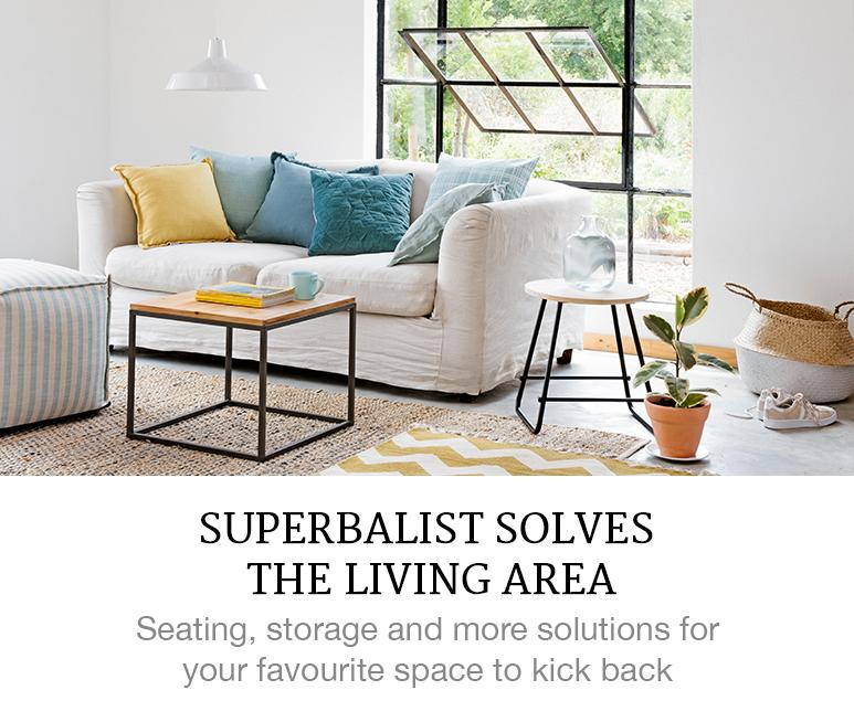 Superbalist Solves The Living Area