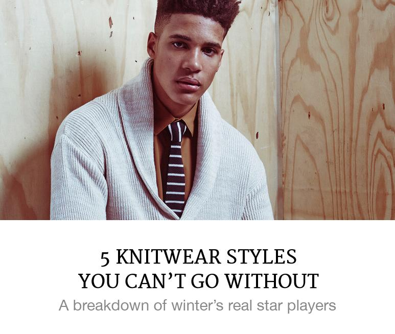 5 Knits For Men