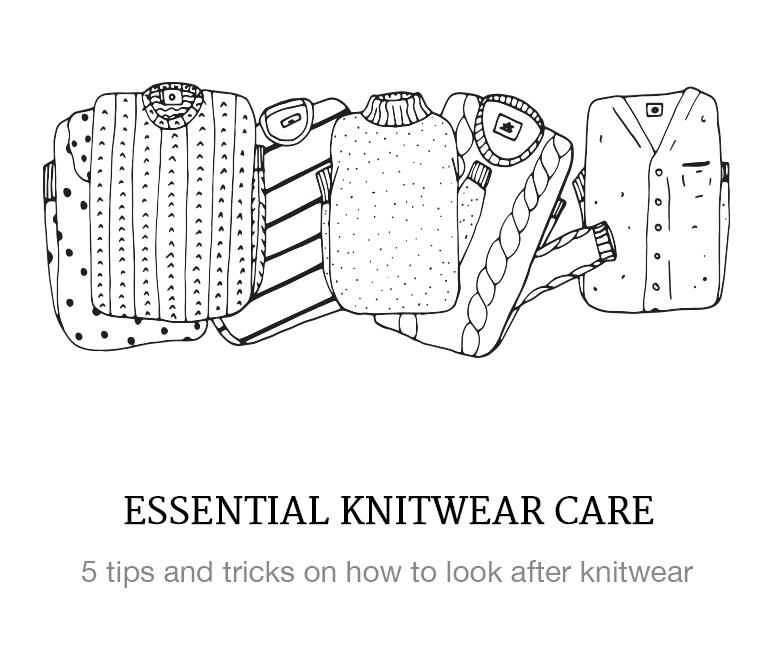 how to care for knitwear