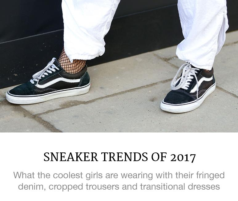 sneaker trends of 2017