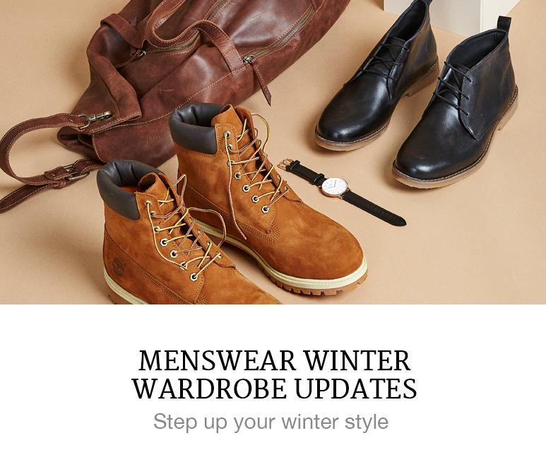 Menswear winter upgrades