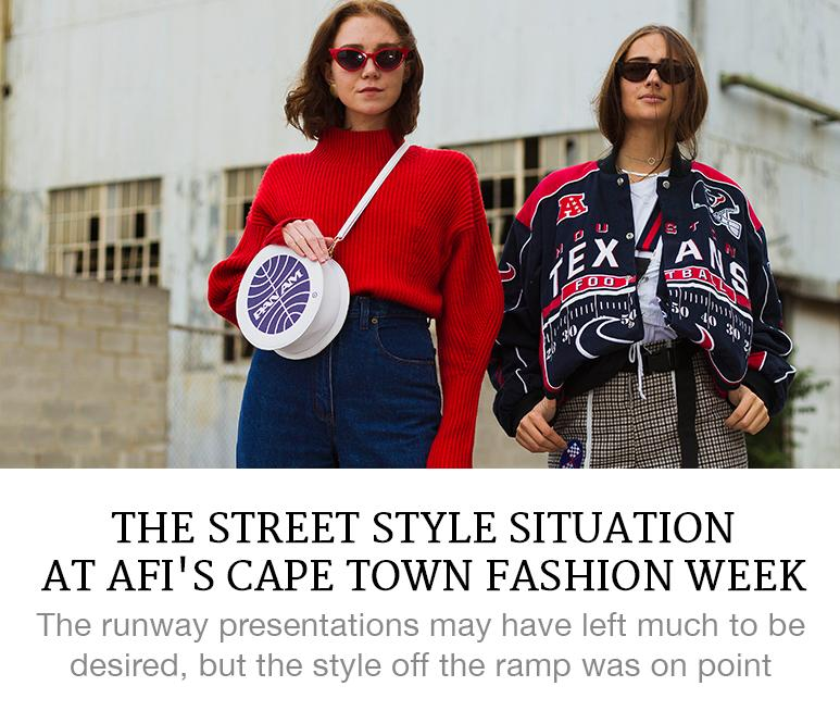 The Street Style Situation at AFI's Cape Town Fashion Week