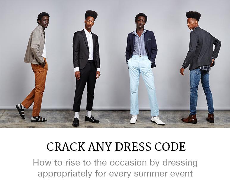 crack any dress code