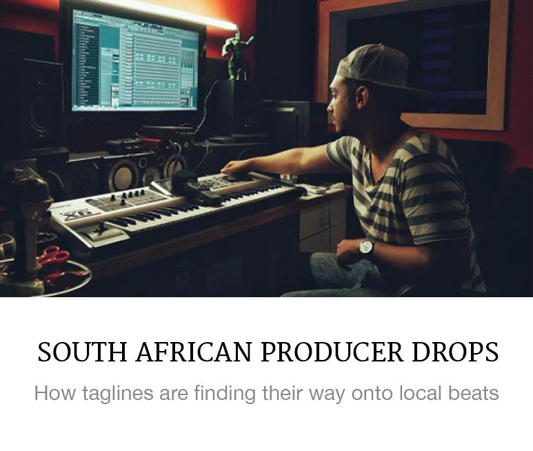 South African hip hop producers