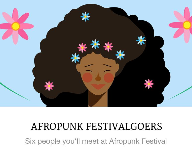 People you'll see at afropunk