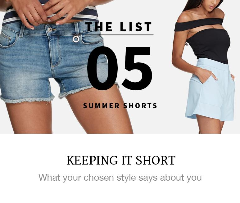Five summer shorts