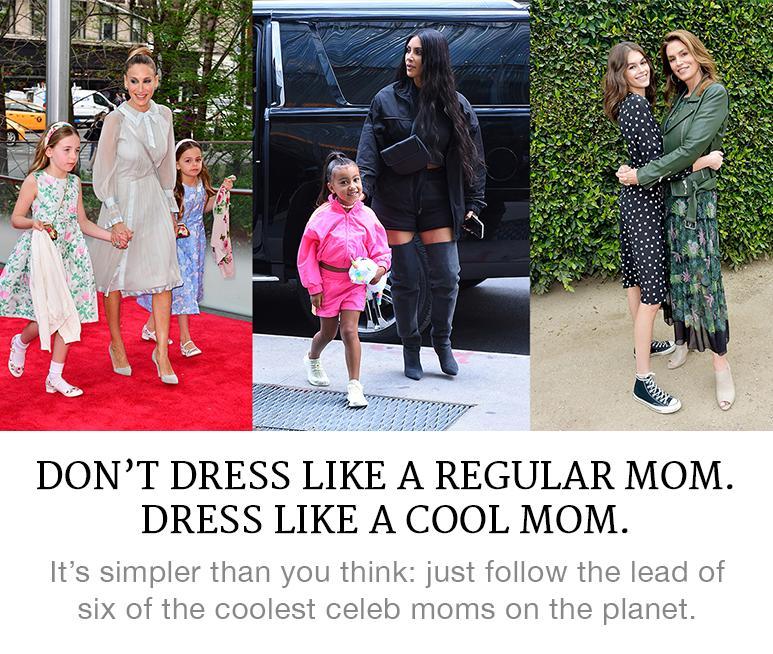 celebrity mom style tips