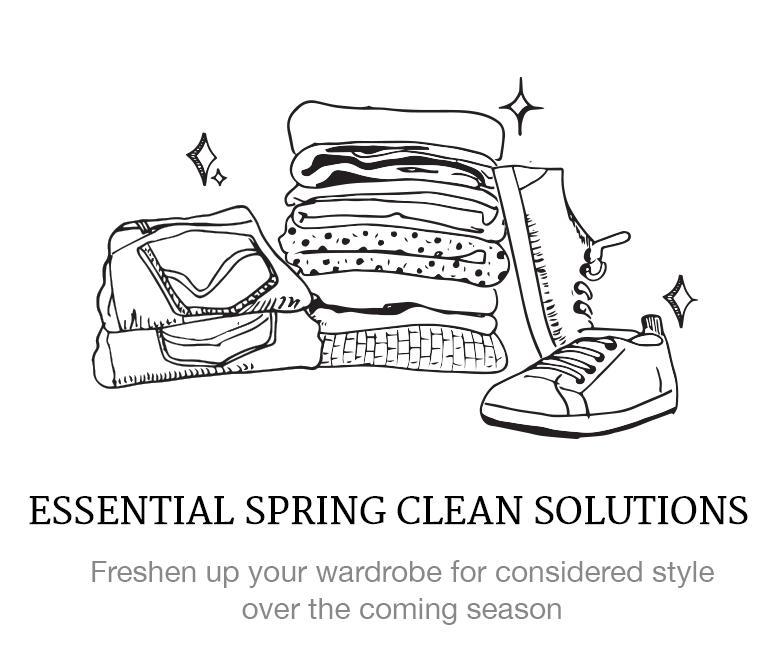 spring clean wardrobe solutions