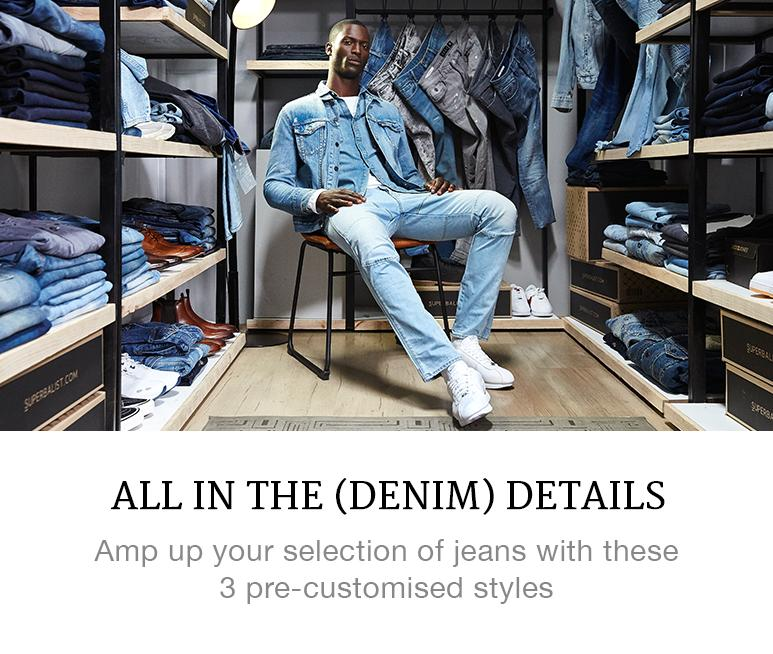 best menswear denim details