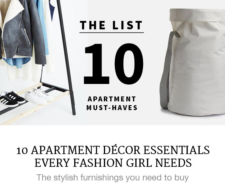 The Fahion Girl's Apartment Essentials