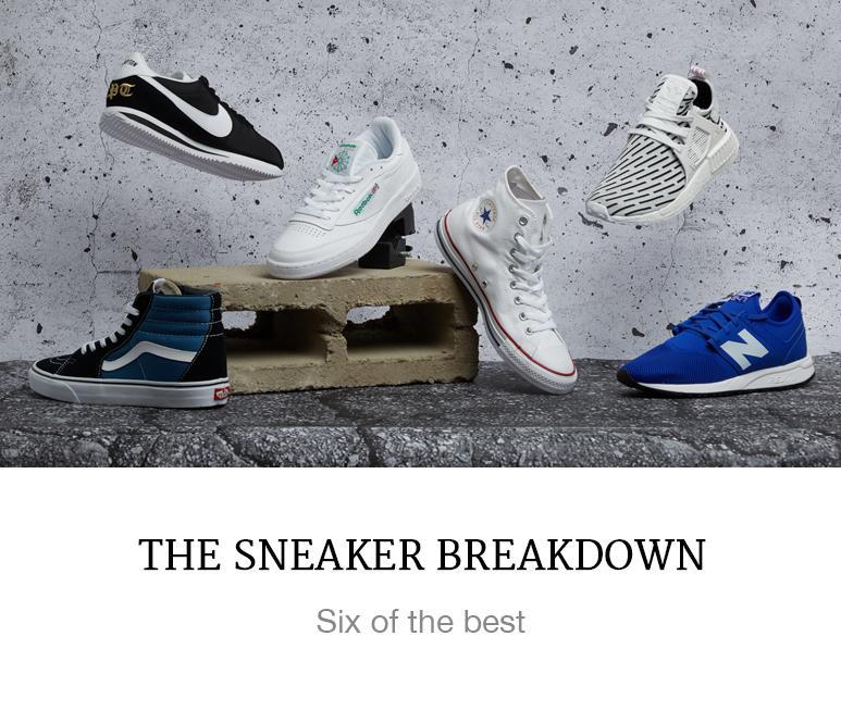 sneaker breakdown