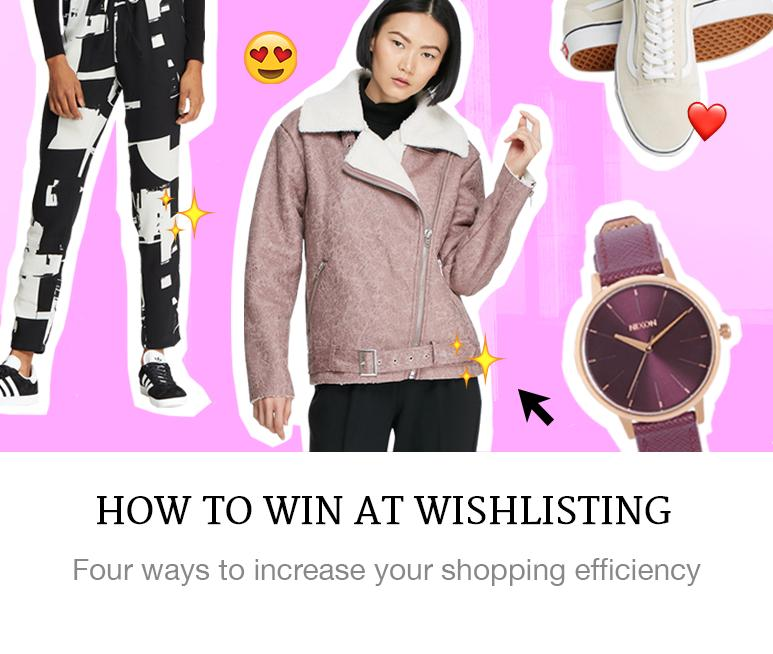 How to wishlist on Superbalist