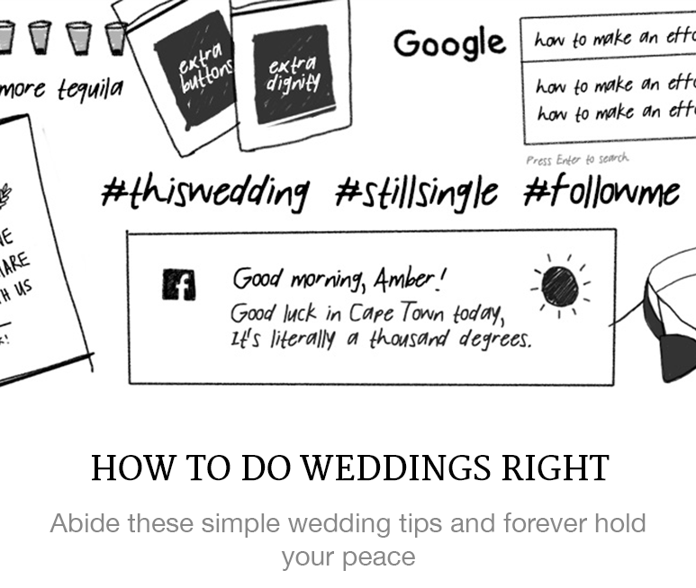 How to do weddings right