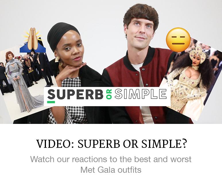 met gala reaction video