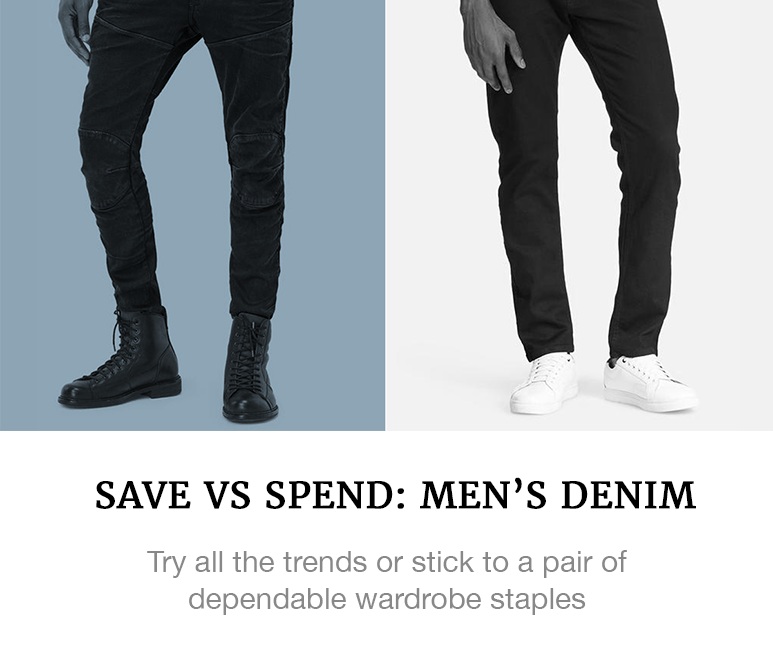 best men's denim
