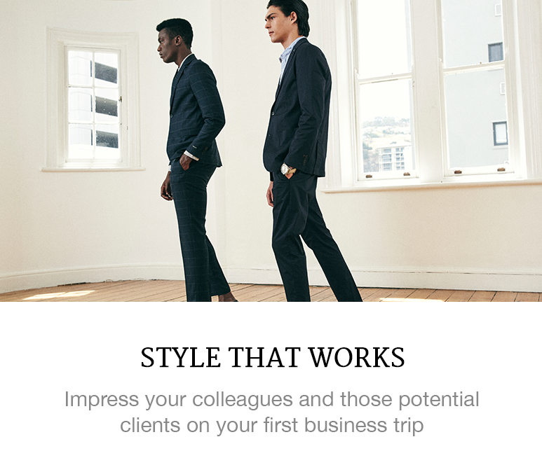 how to dress for business trips