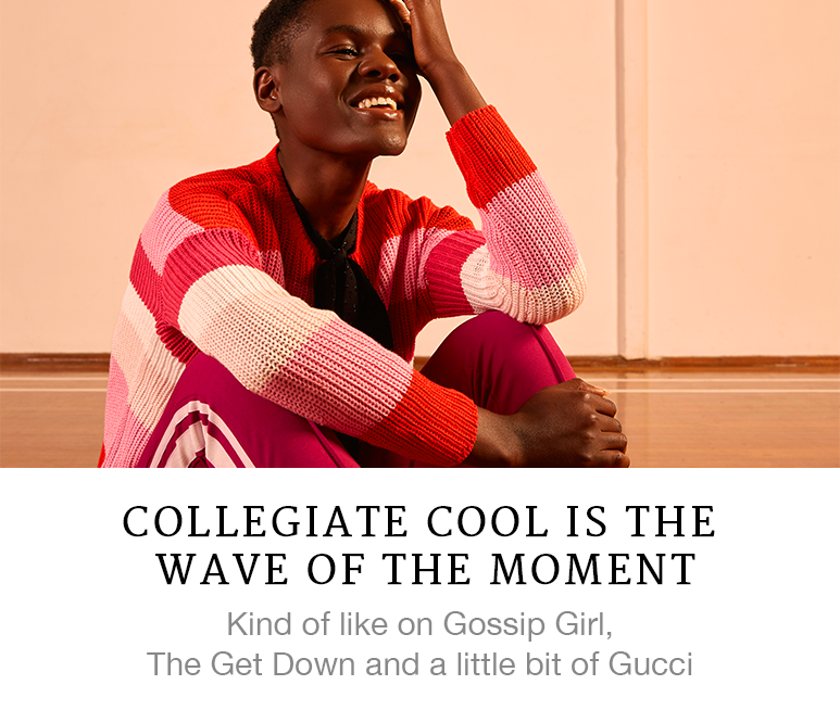 Collegiate Cool is the Wave of the Moment