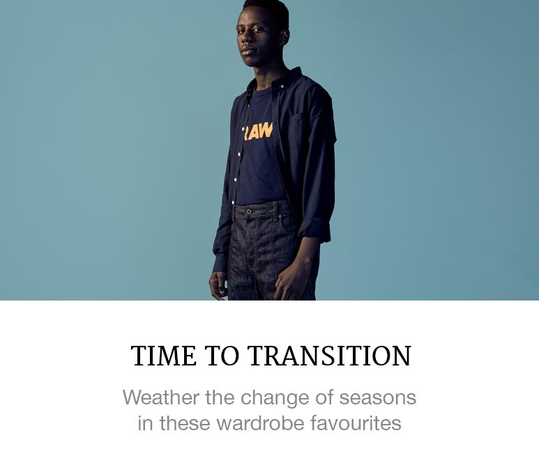 Transitional Menswear