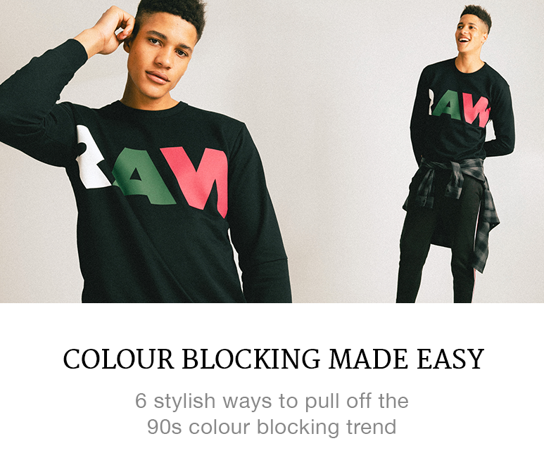 colour blocking made easy
