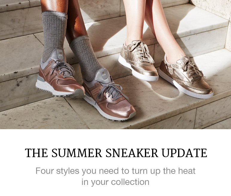 The Summer Sneaker Update