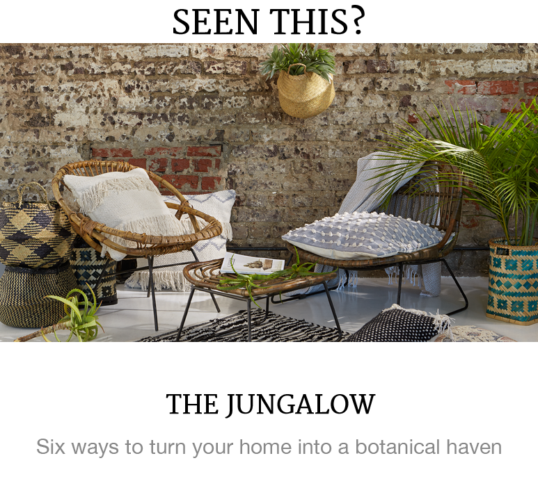botanical home trend