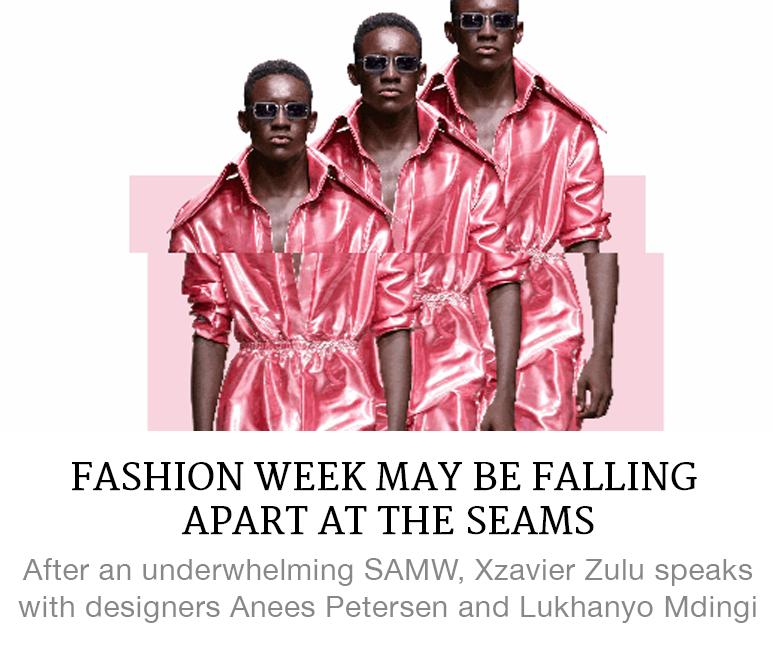 fashion week may be falling apart