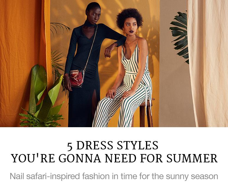 5 dresses for summer