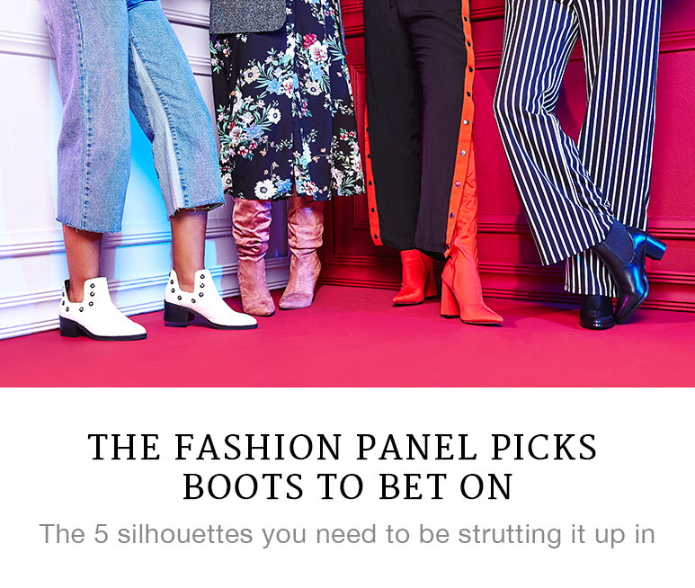 The Fashion Panel Picks Boots to Bet On