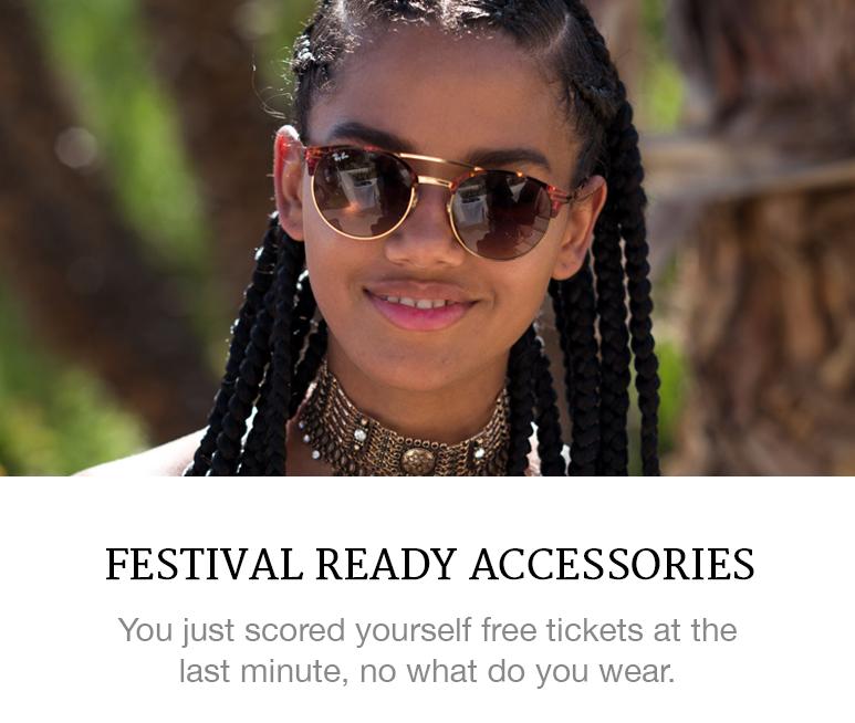 Festival ready accessories