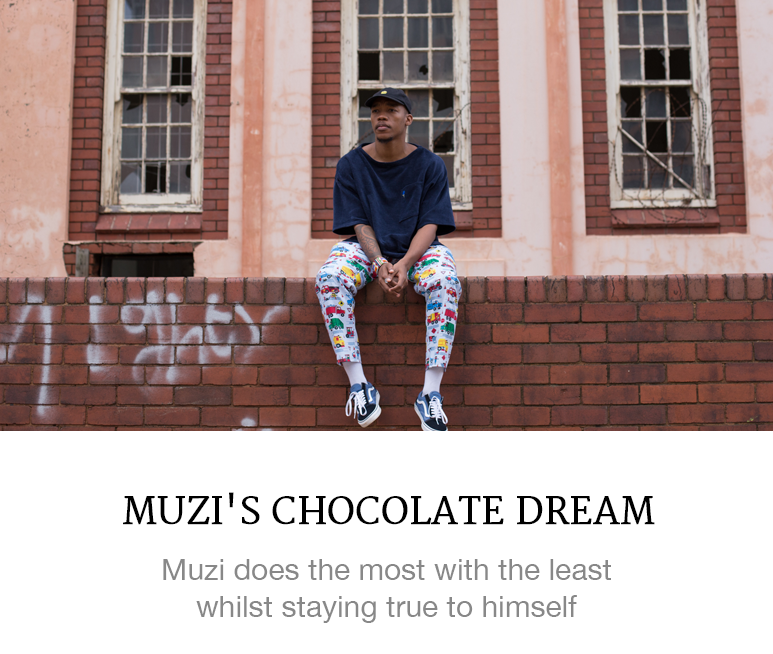 Muzi's new single 'Chocolate Dream'