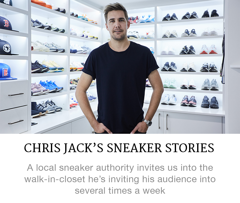 Chris Jack's sneaker stories