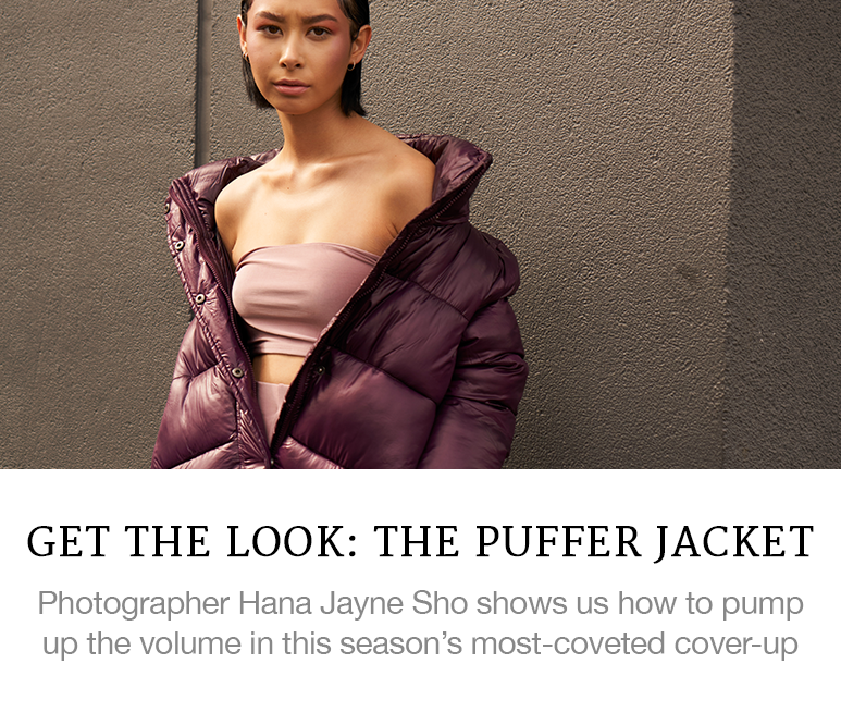 Get the Look: The Puffer Jacket