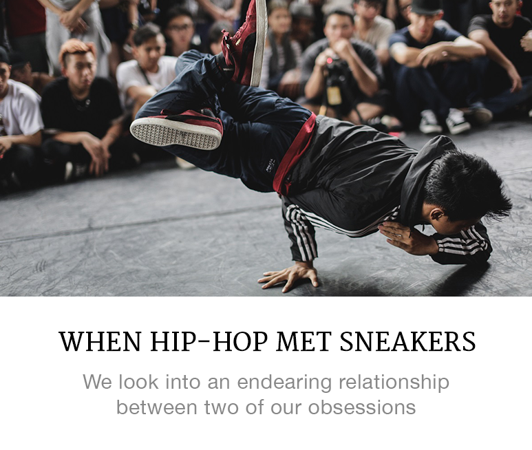 hip-hop and sneakers