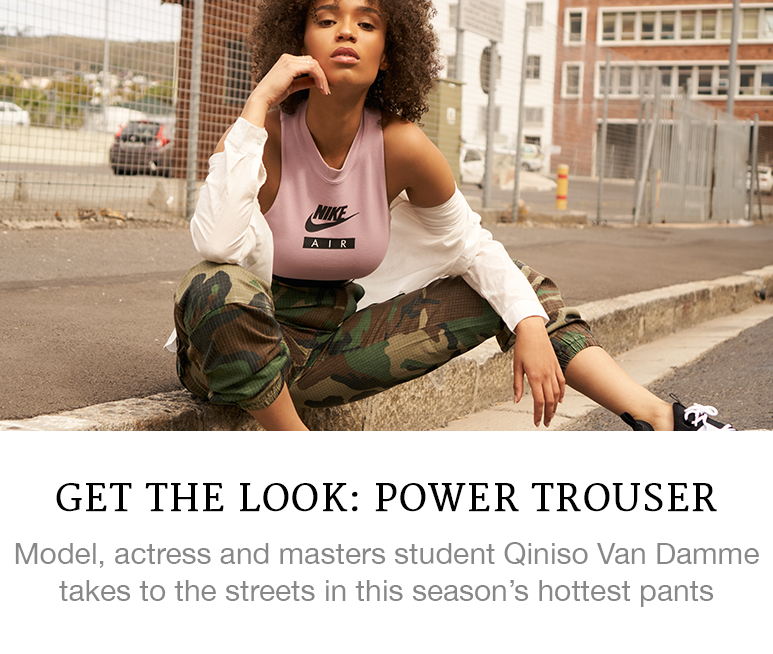 Get the Look: Power Trouser