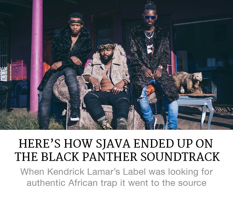Sjava and the Black Panther soundtrack
