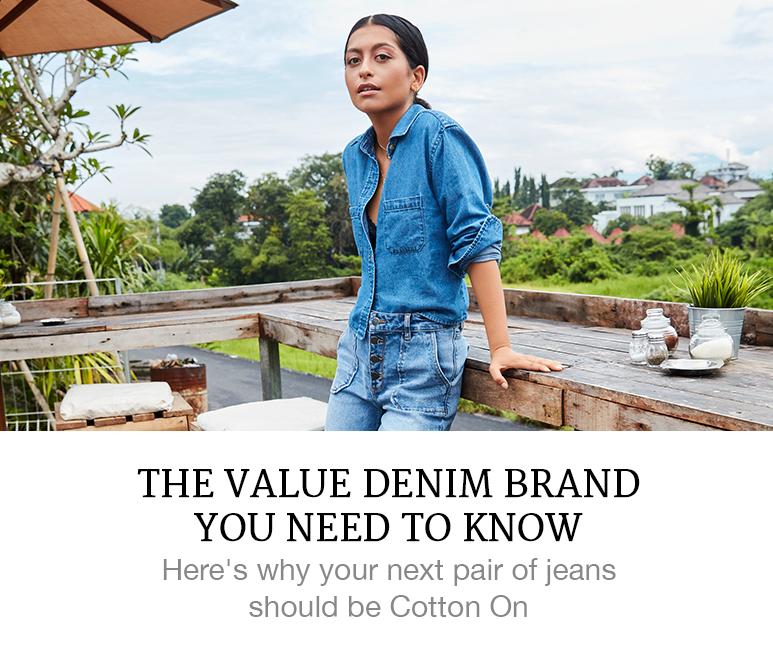 cotton on jeans