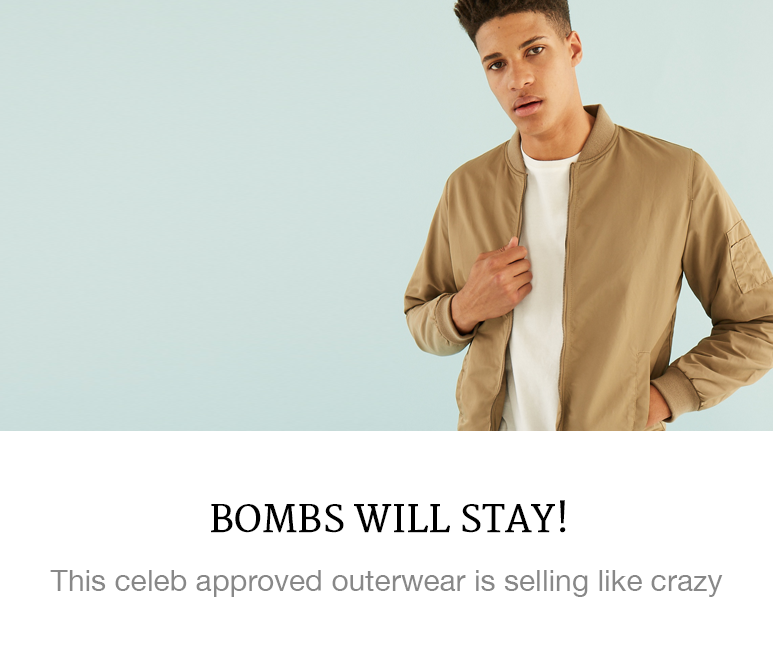 These bomber jackets are selling like crazy