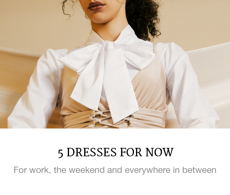 5 dresses for work, the weekend and everywhere in between