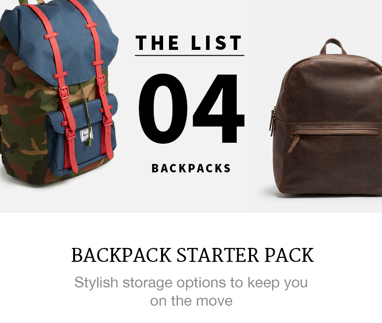 4 of the Best Backpacks