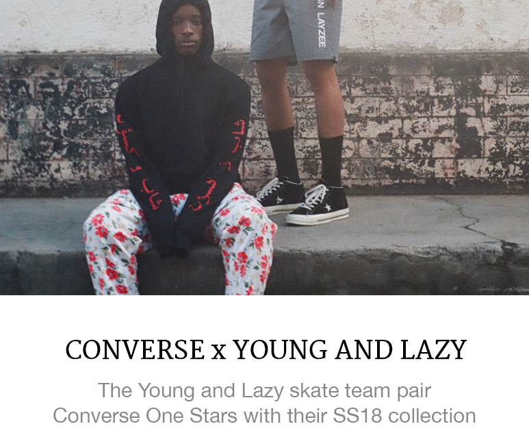 Converse x Young and Lazy