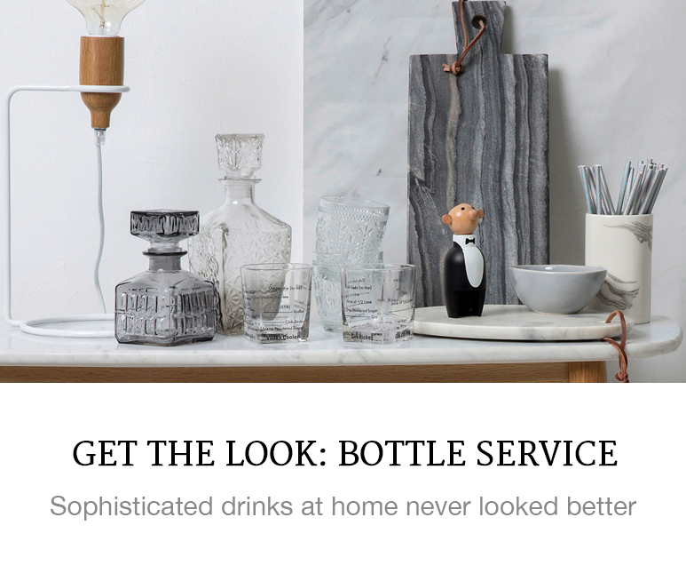 Get the Look: Bottle Service