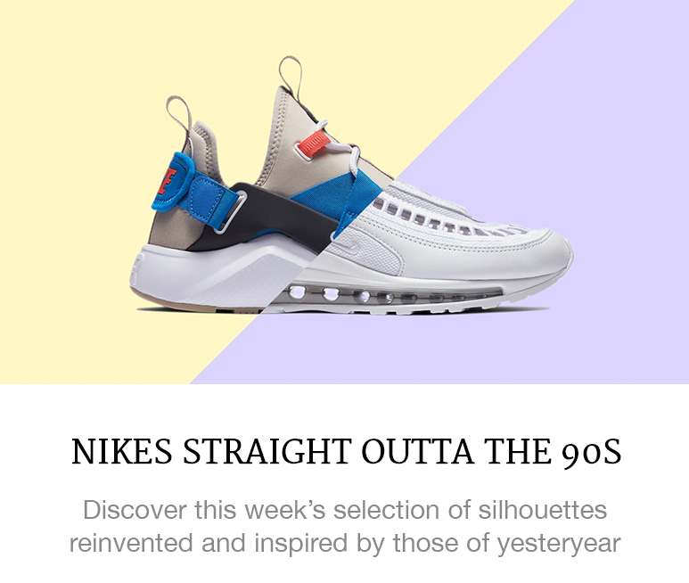 Nikes straight outta the 90s