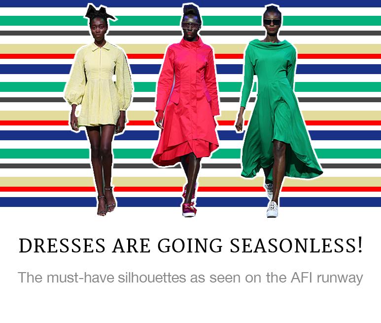Dresses are Going Seasonless