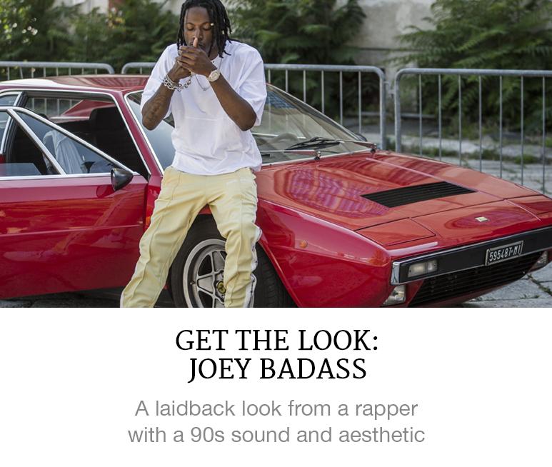 Get the Look: Joey Badass