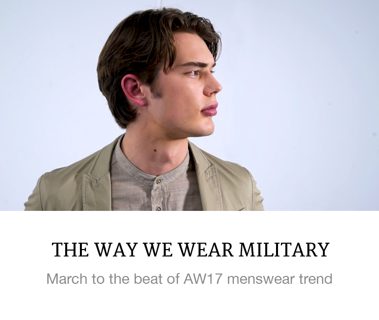 How to wear military video
