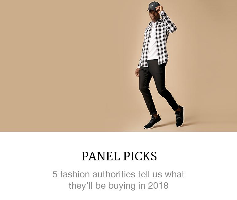 menswear picks for 2018