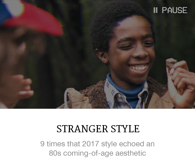 Fashion Lessons from Stranger Things